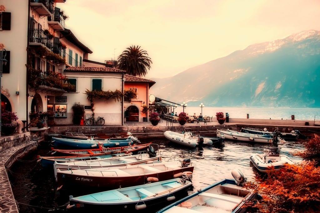 Italien - Gardasøen - rejser