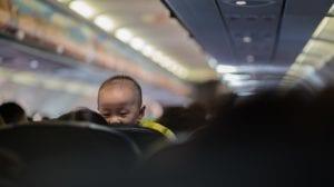 Fly - baby - rejser