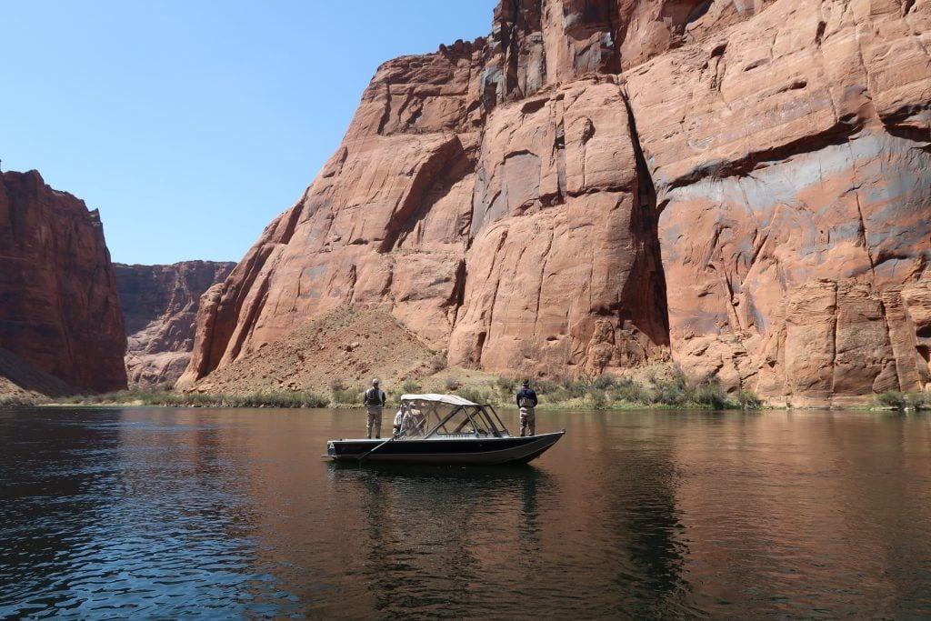 USA - colorado river flod fiskere - rejser