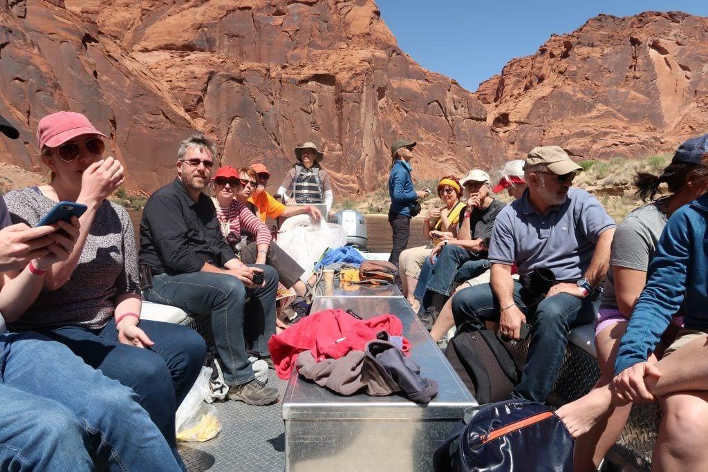 USA - flod natur båd - rejser