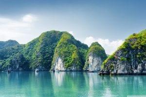 Thailand - Halong Bay - hav - rejser