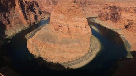 USA - horseshoe bend flod nationalpark - rejser