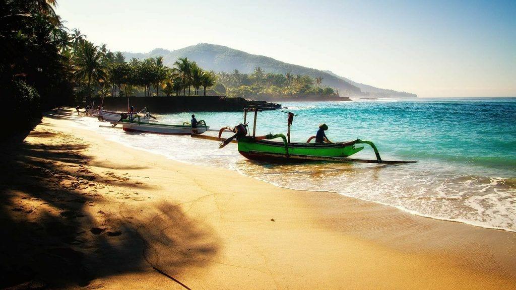 Bali - strand både natur - rejser