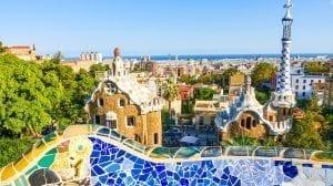 Barcelona - gaudi arkitektur spanien - rejser