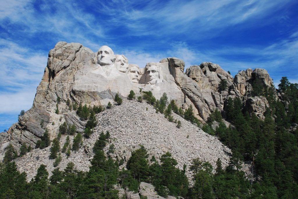 USA - mount rushmore klipper nature - rejser