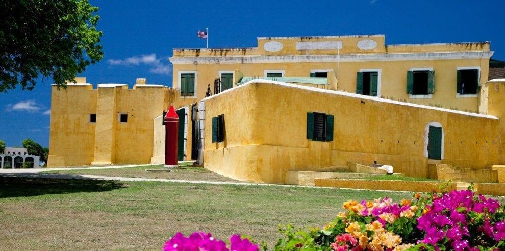 De Vestindiske Øer - St Croix - fort - rejser