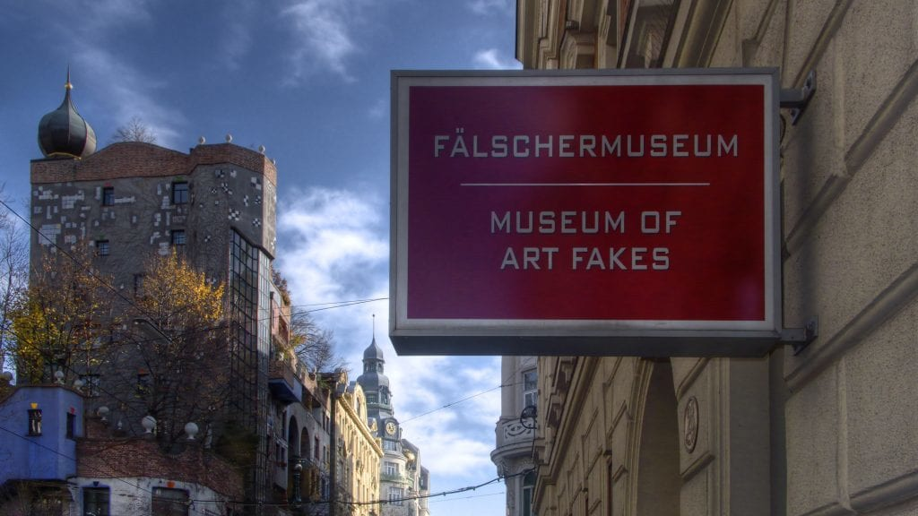 Østrig - Wien, Fälschermuseum - rejser