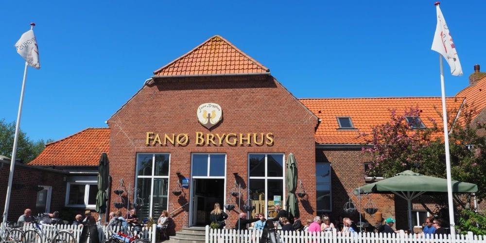 Fanø - bryghus hus øer danmark - rejser