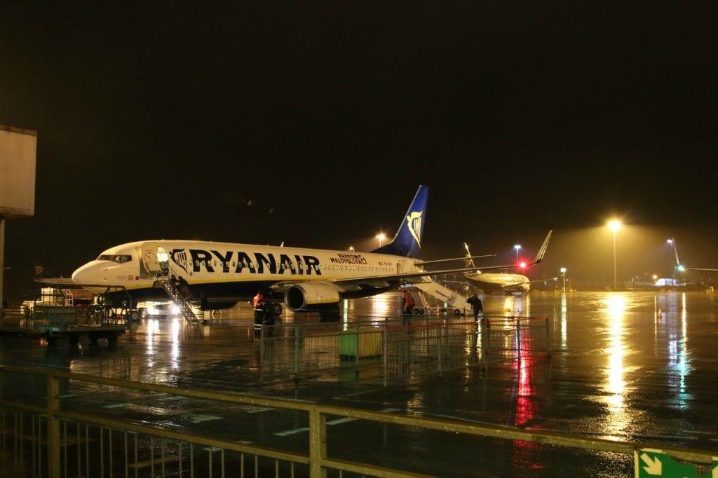 fly - lufthavn stansted storbritannien - rejser