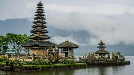 Indonesien - Bali, templer, Rejser