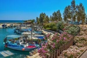 Nordcypern - både havn cypern - rejser