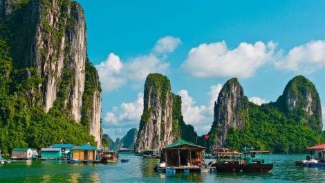 Vietnam - Halong Bay - bjerge - rejser