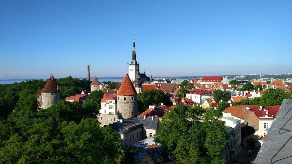 Tallinn - bygninger by estland - rejser