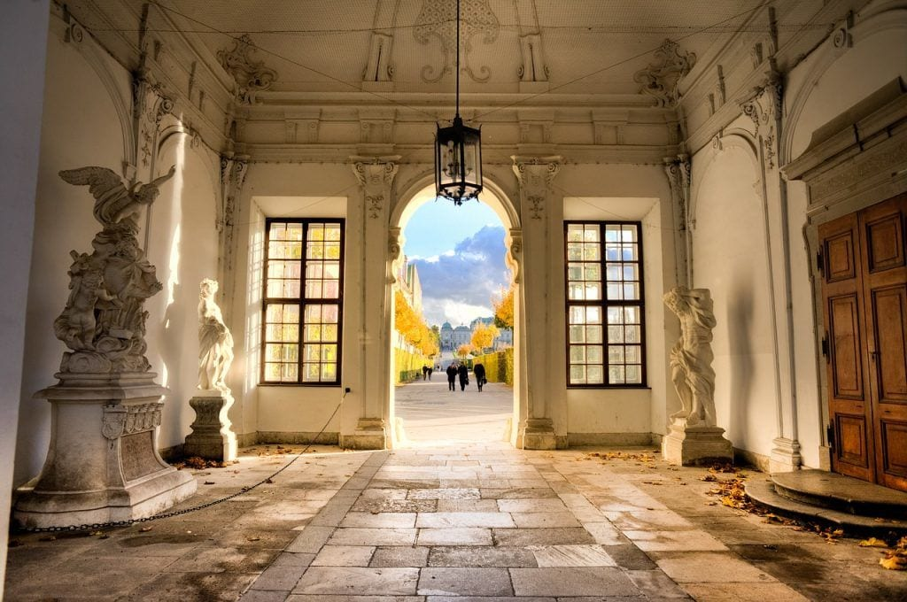 østrig Wien - Belvedere museum by - rejser
