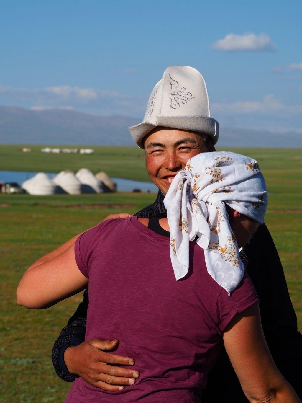 Kirgisistan - dans natur - rejser