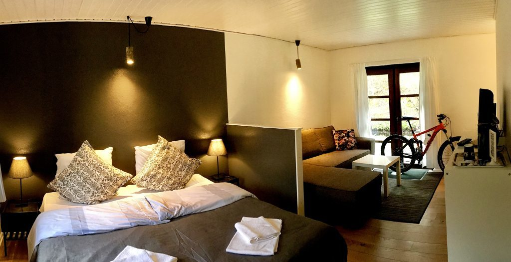 Danmark - Bornholm, Hotel Skovly, værelse - rejser