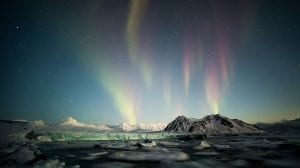 Norge Svalbard nordlys rejser -