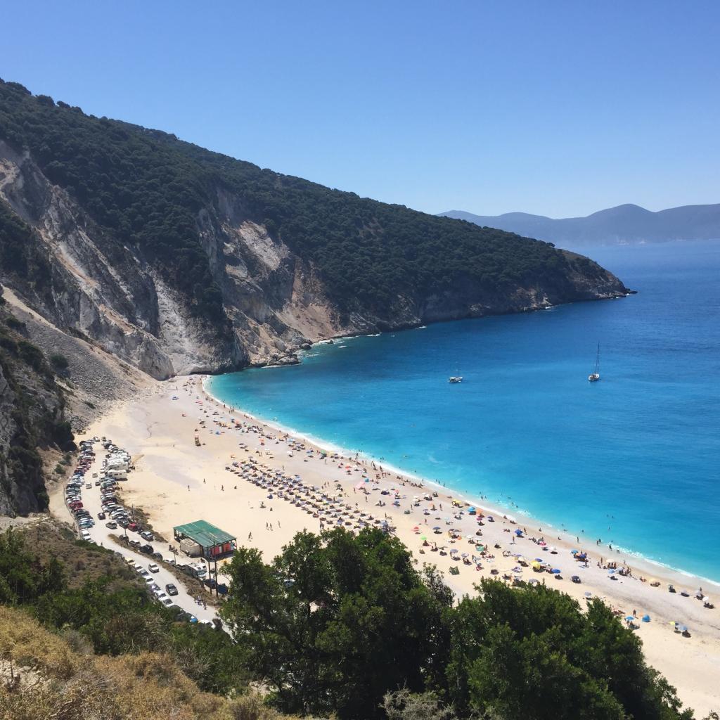 Kefalona - Myrtos - strand - rejser