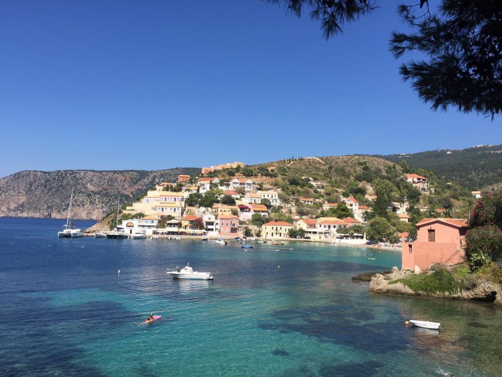 Grækenland - Kefalonia - Assos - Rejser