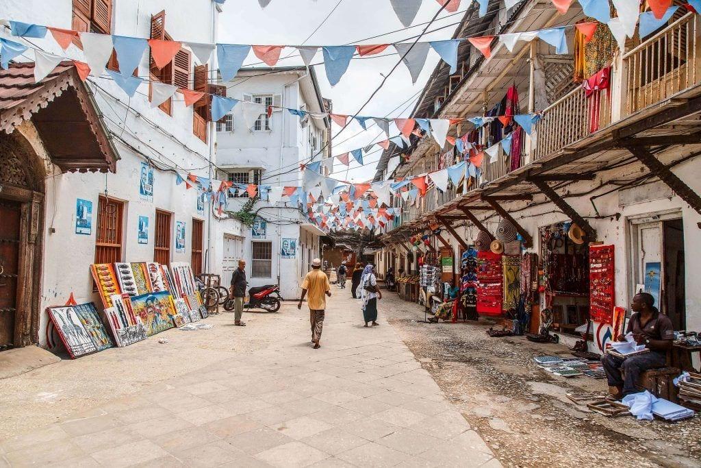 Stonetown Zanzibar Afrika