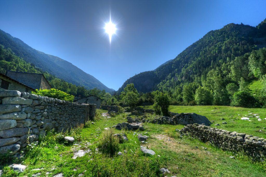andorra - landskab bjerge - rejser