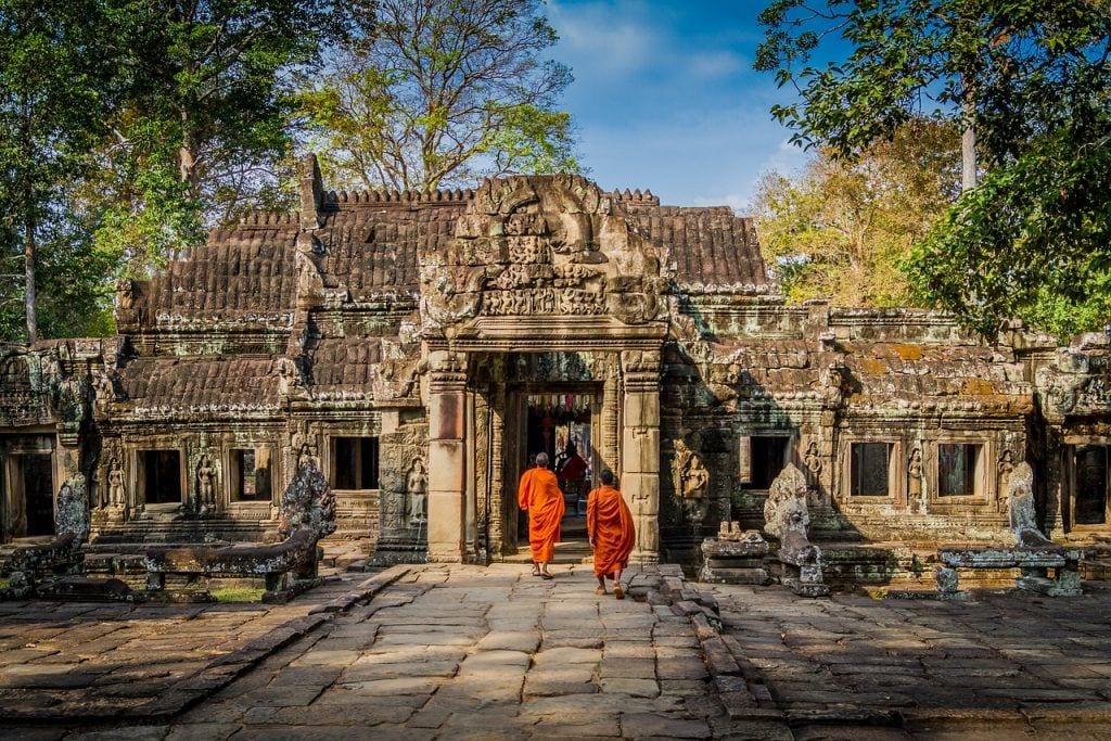 Cambodia - munk tempel kultur - rejser