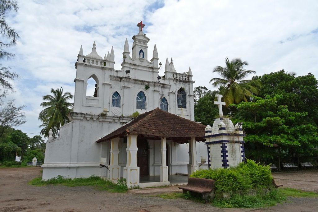 Indien - Goa, kirke - rejser