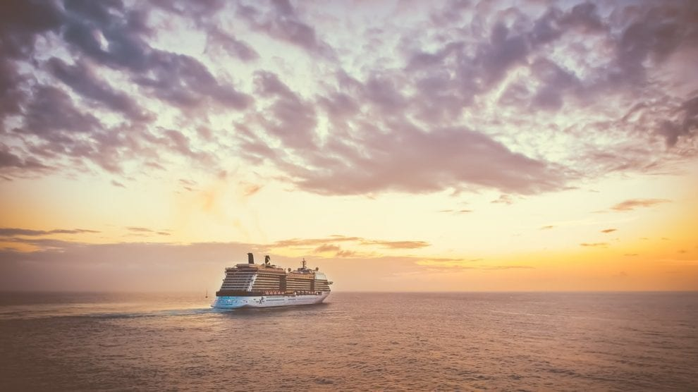 Krydstogt - skib hav himmel - rejser