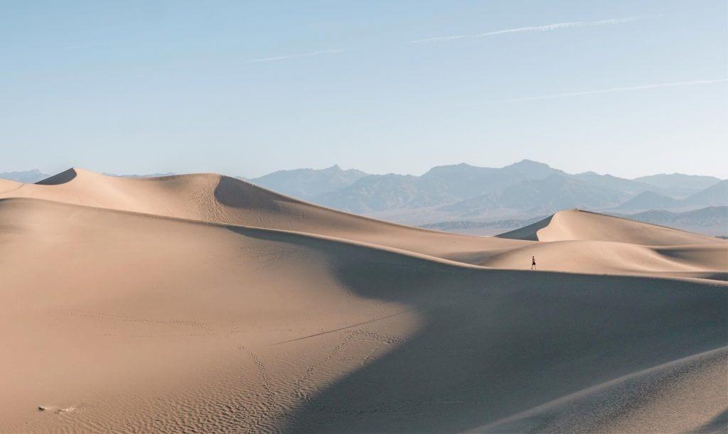 USA - Californien, ørken, natur, death valley - rejser