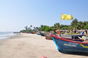 Indien - Goa, strand, både - rejser