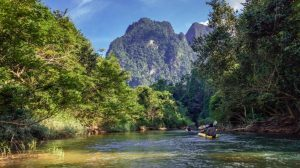 Flod - Thailand - Rejser