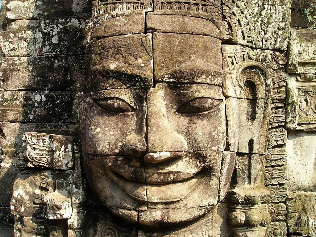Cambodia - statue - rejser