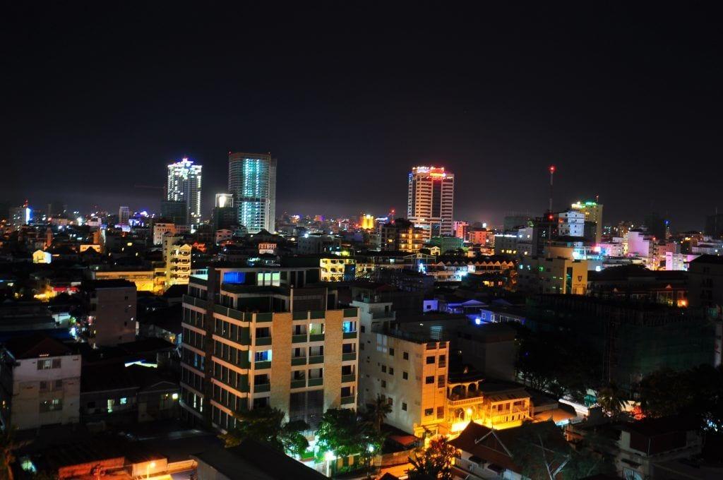 Phnom Penh - Cambodia - storby