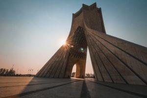 Iran - Teheran, Azadi Tower - rejser
