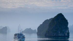 skib - halong bay - vietnam - rejser