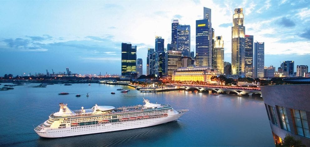 Singapore - krydstogt - storby
