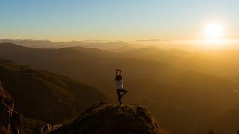 yoga - bjerg - rejser