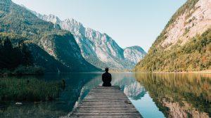 Meditation - sø - rejser
