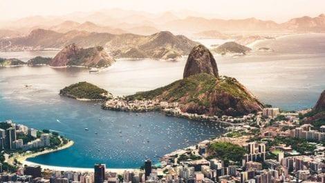 Brasilien-Rio-hav