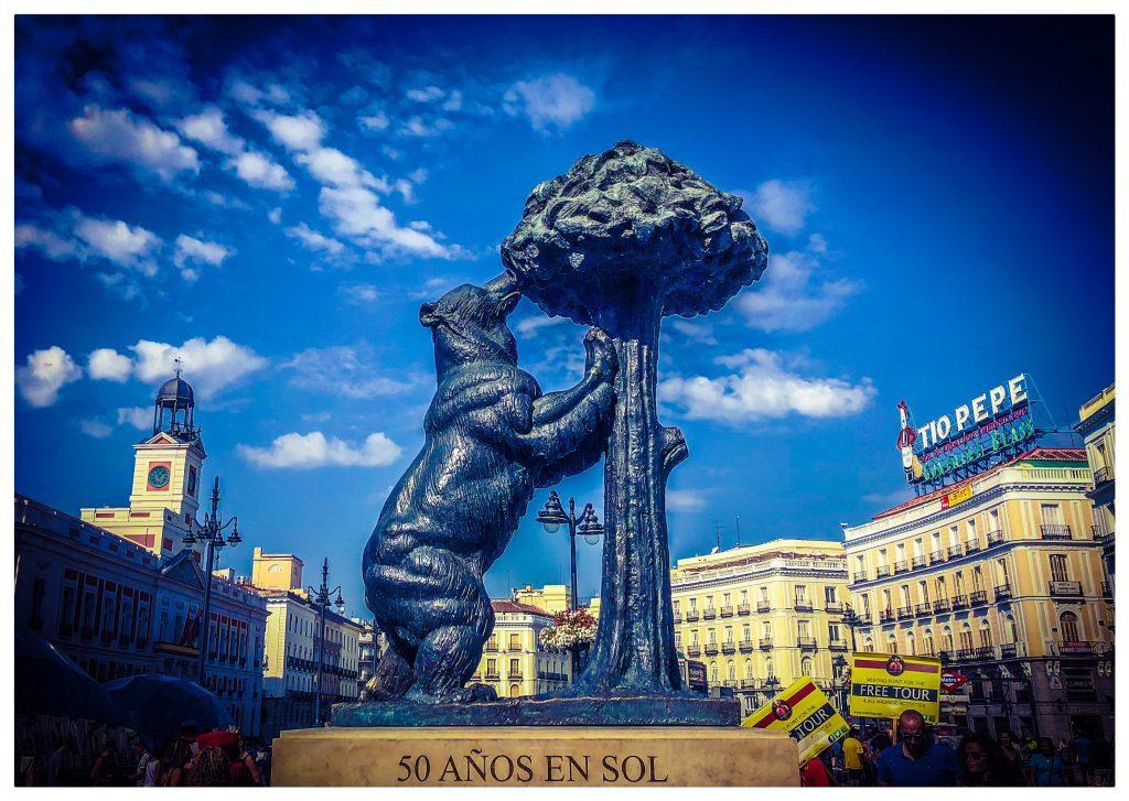 Spanien Madrid Rejser