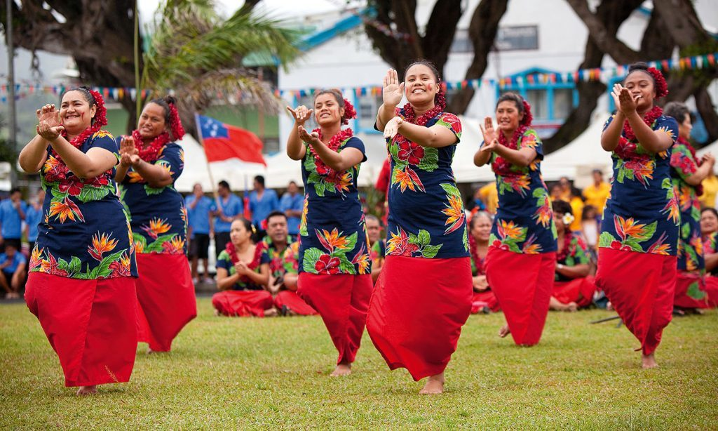 Samoa- dans - rejser