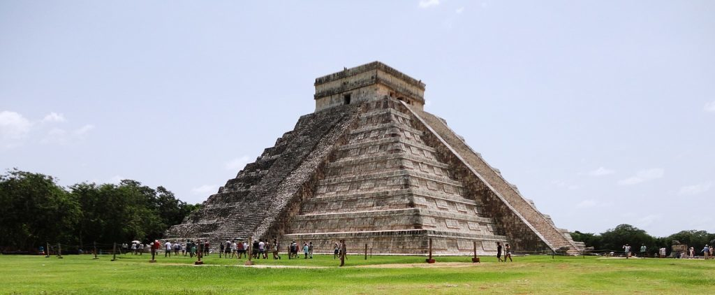 Mexico - Cancun, pyramide - rejser