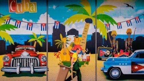 Cuba - Havanna - vægmaleri