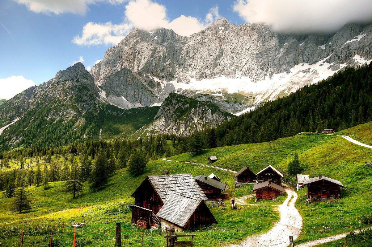 Schladming-dachstein-hytter-bjerg-sti