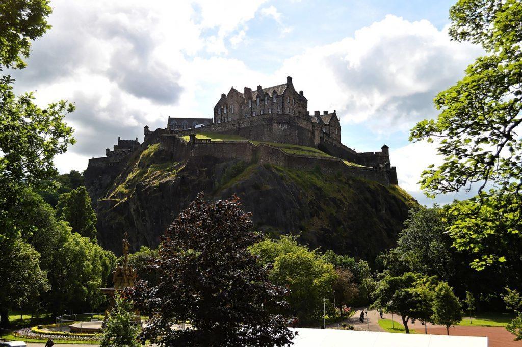 Skotland - Edinburgh, slot - rejser