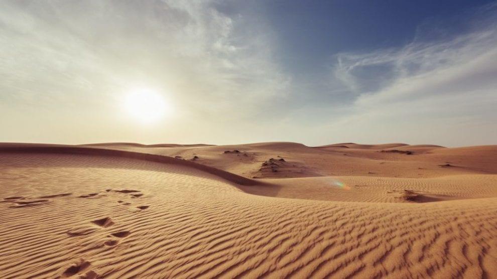 oman - ørken - rejser