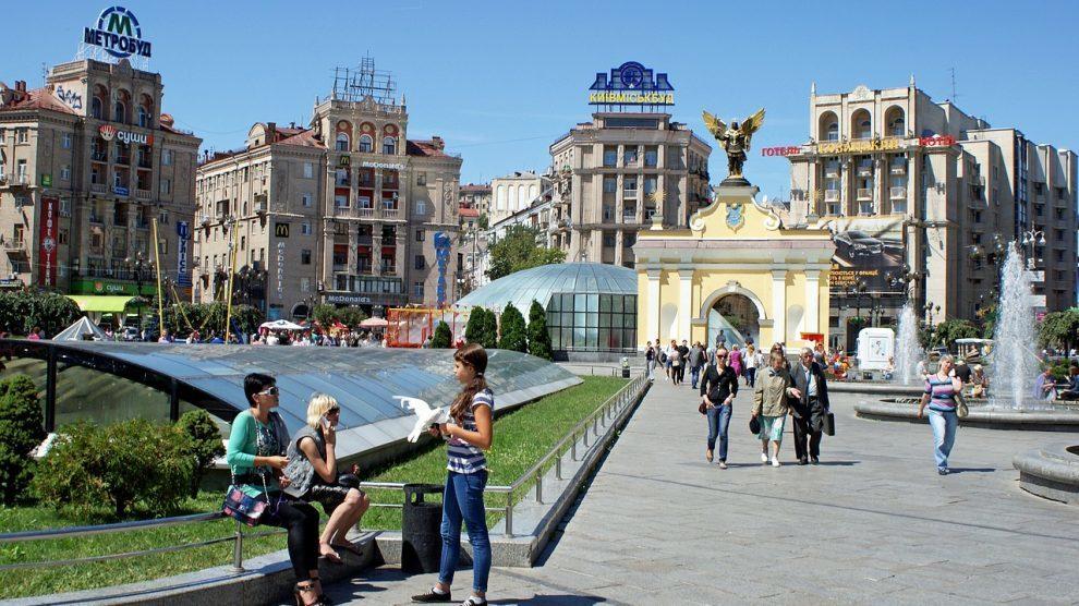 Ukraine - Kiev, Maidan - rejser