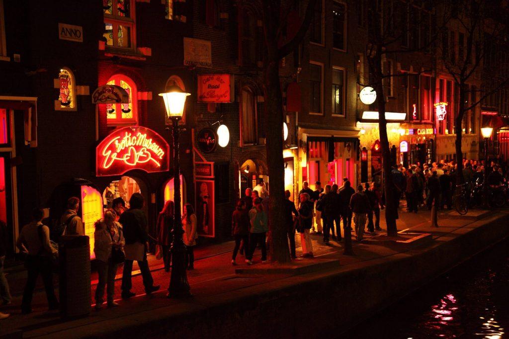 Holland - Amsterdam, red light district - rejser