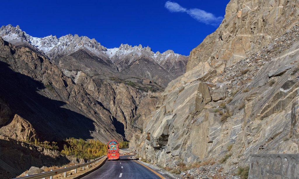 Pakistan - Karakorum Highway, bjerge