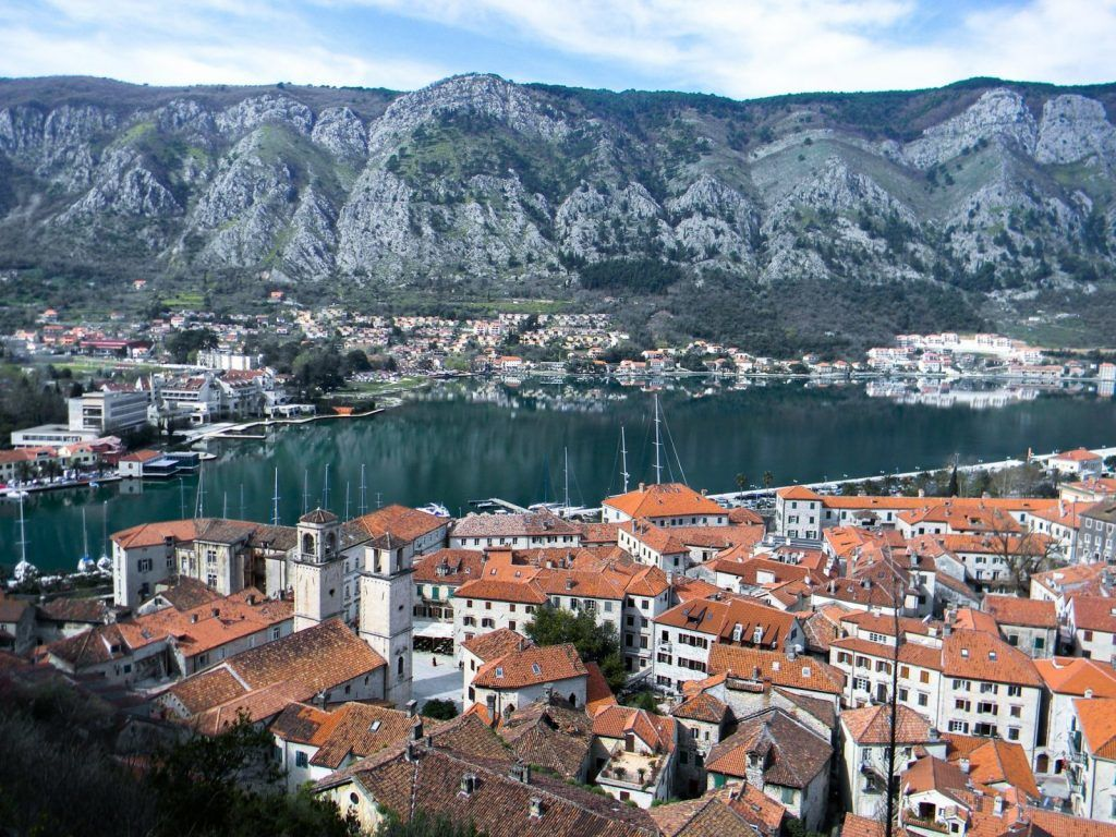 Kotor - montenegro - kystby